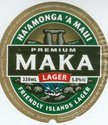 Maka beer label
