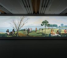Lisa Reihana, in Pursuit of Venus [infected], 2015, multi-channel video, Auckland Art Gallery Toi o Tāmaki, gift of the Patrons of Auckland Art Gallery
