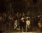 """The Night Watch"".  Photo credit: Rembrandt Research Project Foundation and Professor Ernst van de Weterin"