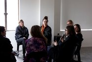 Brown Council, The History of Performance, 2015, live participatory performance, Saturday 5 September. Photo: Daegan Wells