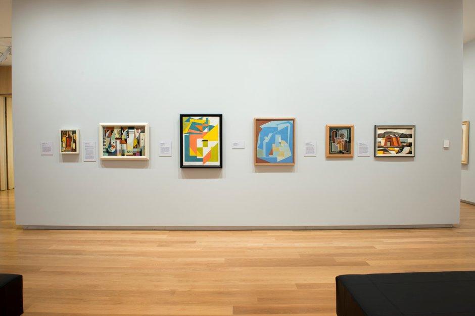 Six New Zealand Cubist Painters Eyecontact