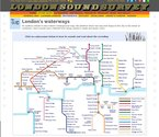 London Sound Survey Waterways Soundmap