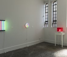 Vivid: A Paul Hartigan Retrospective, as installed at Gus Fisher Gallery. Photo: Sam Hartnett