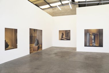 Megan Jenkinson's Other Spaces as installed at Jonathan Smart Gallery.