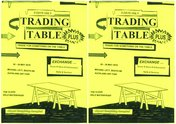 Eve Armstrong's Trading Table poster for the Auckland Art Fair 2016