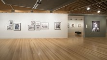 Installation of New Zealand Photography Collected, 2015. Photo: Norm Heke (c) Te Papa.