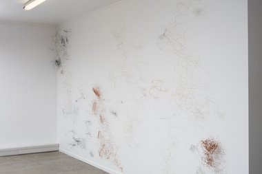 Sarah Smuts-Kennedy, Star circuit : Heart circuit  (Events within Boundaries), 2016 as installed at RM. Photo: Sam Hartnett