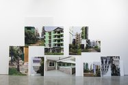 Dieneke Jansen: Jakarta Real Estate, 2015, 30 photographs on Corflute. Photo: Sam Hartnett