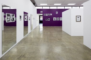 Sabelo Mlangeni's Heartbreaker exhibition of hand-printed gelatin prints, as installed at Artspace. Photo: Sam Hartnett