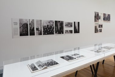 Installation view of Walker Evans: The Magazine Work at Adam Art Gallery, Victoria University of Wellington, 2016. Photo: Shaun Waugh