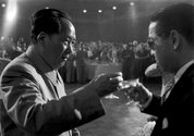 Tom Hutchins, Chairman Mao toasts Egypt's National Day, Peking. Copyright Tom Hutchins Images Ltd.