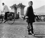 Tom Hutchins, Old Woman with Bound Feet, Lanchow Province, China, 1956. Copyright Tom Hutchins Images Ltd