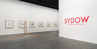 The installation of Sydow: Tomorrow Never Knows at Christchurch Art Gallery Te Puna o Waiwhetu. Photo by John Collie.