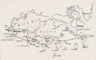 The Surrealist Map of the World
