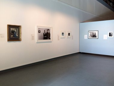 Capture / photographs from the Collection, as installed at New Zealand Portrait Gallery in Shed 11.