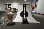 Josephine Cachemaille's 'Us, Us, Us' as installed at The Suter Art Gallery Te Aratoi o Whakatu. Photo: John-Paul Pochin