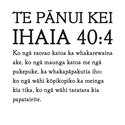 The Te Reo text presented by Mokopōpaki in response to Apple's proposal.