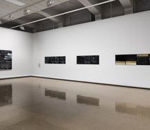 Colin McCahon: On Going Out with the Tide, installation view, City Gallery Wellington 2017. Photo: Shaun Waugh.