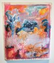 Michael Armstrong, Cascade Effect, Pink Version, acrylic on canvas, 1023 x 880 mm