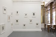 Installation of Miroslav Tichy's 38 Photographs at Robert Heald Gallery