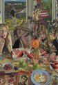 Jacqueline Fahey, Georgie Pies for Lunch, 1977, oil on board, 830 x 562 mm, Collection of Philippa Howden-Chapman and Ralph Chapman, Wellington