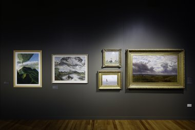 Clouds as installed at Sarjeant Gallery Te Whare o Rehua Whanganui