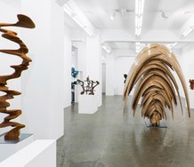 Tony Cragg's exhibition as installed at Gow Langsford. Photo: Tobias Kraus