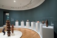 Wi Taepa: Retrospective as installed at Auckland Art Gallery Toi o Tamaki
