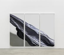 Nik Pantazopoulos, to unfurl IV (A6007550), 2017, mixed materials, 180 x 240 x 3 cm. Photo: Christo Crocker