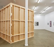 Gavin Hipkins' Block Units exhibition as installed at Starkwhite. Photo: Sam Hartnett.
