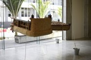Paul Cullen, Fainting Couch, 2012, in Gallery Two of St Paul St. Photo: Paul Cullen Archive.