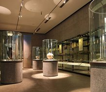 Auckland museum's Ancient Worlds gallery. Photograph from the museum's website.