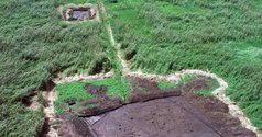 Photograph of excavations at Kuk Swamp, Wahgi valley. Taken from the website of UNESCO's World Heritage Centre.