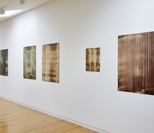 Installation of Leigh Martin's Mass (Squared) exhibition at Two Rooms. Photo: Sam Hartnett