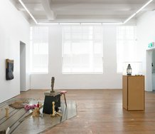 Installation of Hany Armanious' 'O Week' at Michael Lett