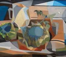 Louise Henderson, Cubist Still Life, 1954, Auckland Art Gallery Toi o Tāmaki, purchased 2019