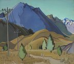 Louise Henderson, Plain and Hills, 1936, Christchurch Art Gallery Te Puna o Waiwhetu, purchased 2003