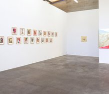 Installation of Miranda Parkes' Relationship Status at Jonathan Smart Gallery