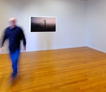 Mark Hamilton's The Liberation of Limitation as installed at RAMP. Photo: Geoff Ridder