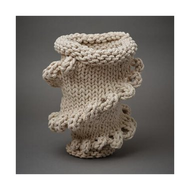 Finn Ferrier, Soft Garniture, 2020, detail, knitted cord